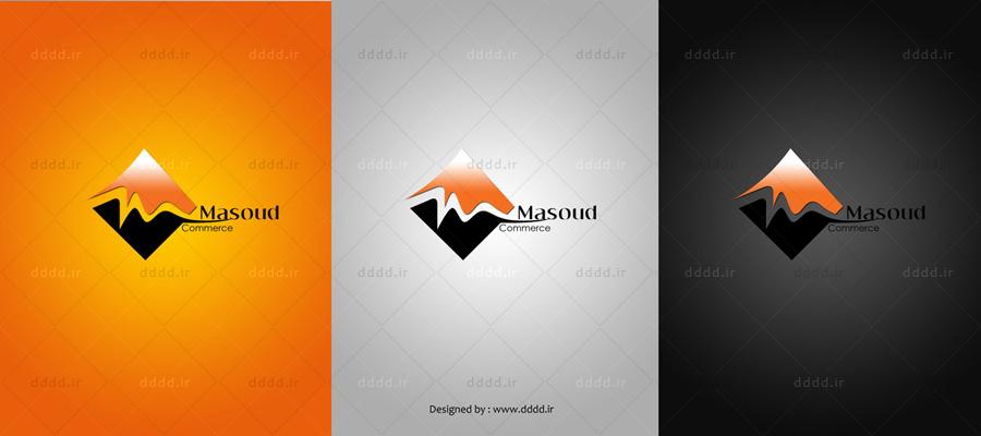 طراحی لوگو شرکت بازرگانی مسعود - شرکت بعد چهارمطراحی لوگو شرکت بازرگانی مسعود