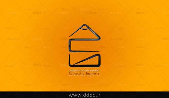 طراحی لوگو شرکت معماری خط - شرکت بعد چهارمطراحی لوگو شرکت معماری خط