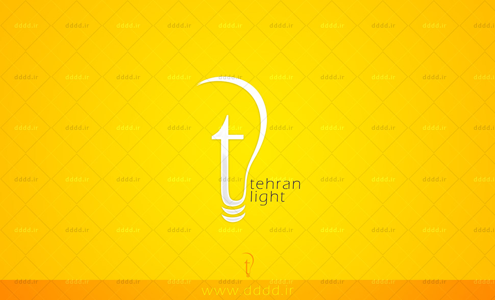 طراحی لوگو شرکت تهران لایت - شرکت بعد چهارمطراحی لوگو شرکت تهران لایت