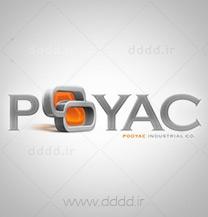 طراحی لوگو شرکت پویاک