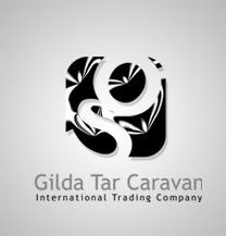 طراحی لوگو شرکت گیلدا تار کاروان