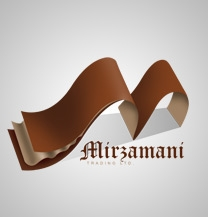 طراحی لوگو بازرگانی میرزمانی