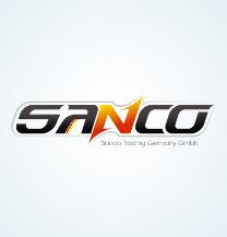 طراحی لوگو شرکت بازرگانی سنکو آلمان