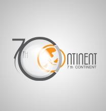 طراحی لوگو شرکت قاره هفتم