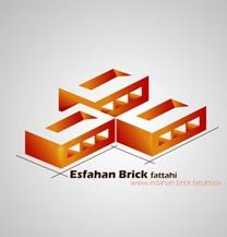 طراحی لوگو شرکت آجر اصفهان