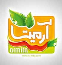 طراحی لوگو برند آرمیتا