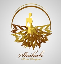طراحی لوگو برند شهابی
