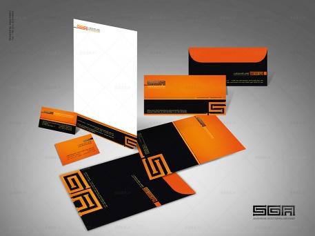 طراحی ست اداری شرکت شهراب
