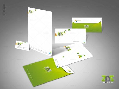 طراحی ست اداری شرکت زرین پلاست