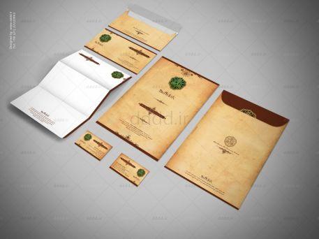 طراحی ست اداری شرکت آداک