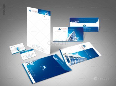 طراحی ست اداری پنجره پی وی سی فنآوران