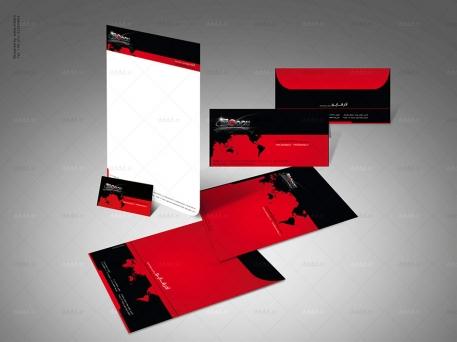 طراحی ست اداری شرکت آذرقاپو