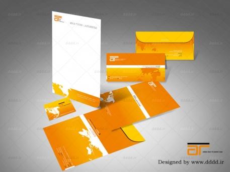طراحی ست اداری شرکت آرکا راد تجارت