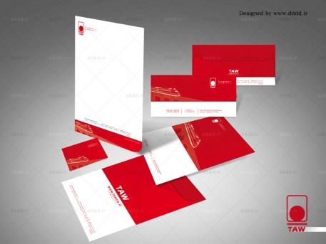 طراحی ست اداری شرکت واگن پارس
