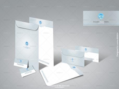 طراحی ست اداری شرکت رویا سازان خلاق