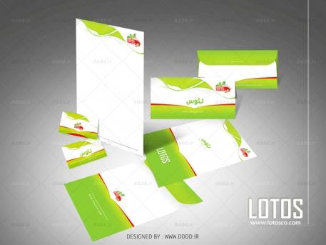 طراحی ست اداری شرکت لوتوس
