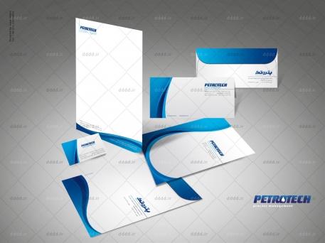 طراحی ست اداری شرکت پتروتک
