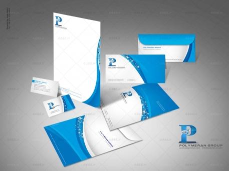 طراحی ست اداری شرکت پلیمران
