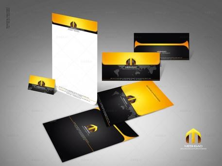 طراحی ست اداری شرکت مشگاد