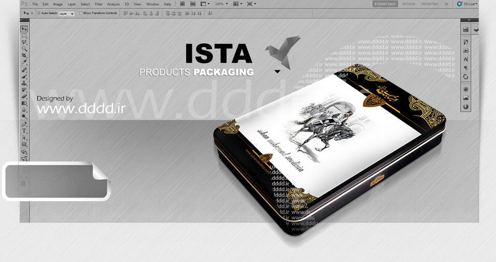 طراحی بسته بندی ایستابهارستان