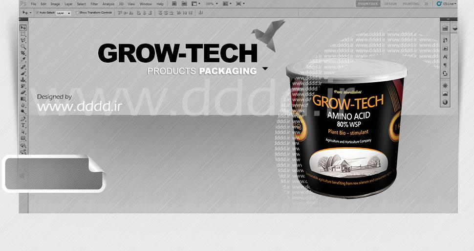 طراحی محصولات کشاورزی GrowTech