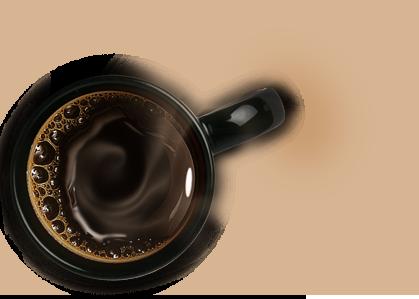 شرکت بعد چهارم و طراحی سایت با یک فنجان قهوه داغ