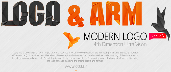 طراحی لوگو و آرم شرکت بعد چهارم