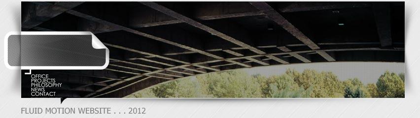 طراحی سایت فلش حرکت سیال