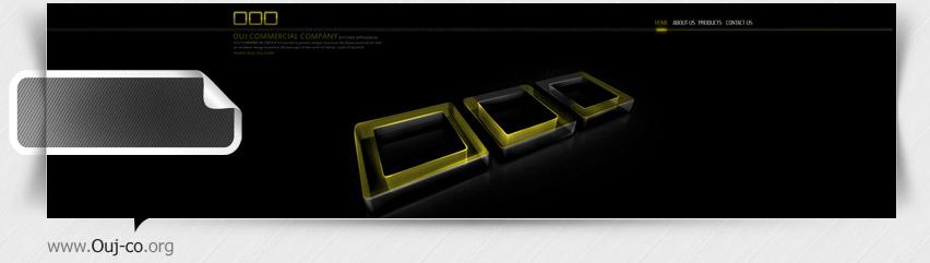 طراحی سایت فلش شرکت اوج