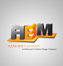 طراحی لوگو و آرمطراحی لوگو شرکت آذربافت معماری
