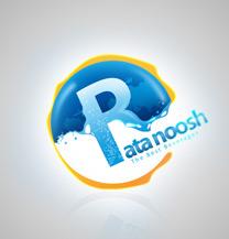 طراحی لوگو شرکت راتا نوش