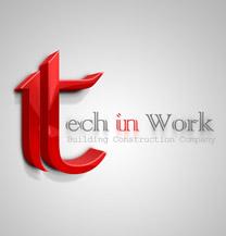 طراحی لوگو شرکت Tech in Work