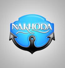 طراحی لوگو شرکت ناخدا