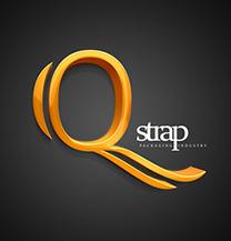 طراحی لوگو شرکت بسته بندی QStrap