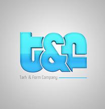 طراحی لوگو شرکت T&F