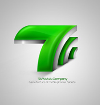 طراحی لوگو شرکت تاریانا