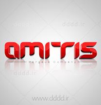 طراحی لوگو شرکت آمیتیس