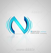 طراحی لوگو شرکت نوین سل