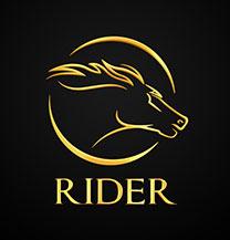 طراحی لوگو باشگاه اسب سواری رایدر