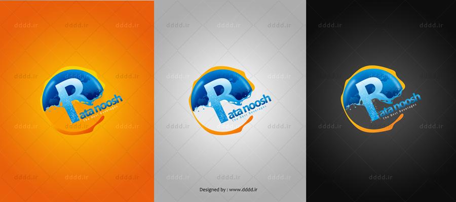 طراحی لوگو شرکت راتانوش - شرکت بعد چهارم01 ...