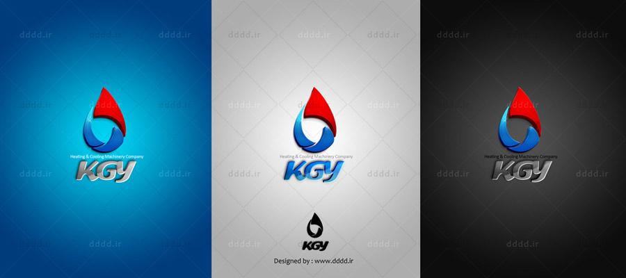 طراحی لوگو شرکت کولاک گستر یزد - شرکت بعد چهارم... 01 ...