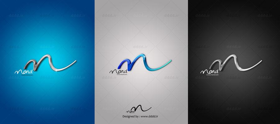 طراحی لوگو شرکت MOND - شرکت بعد چهارم01 ...