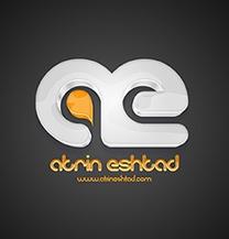 طراحی لوگو ، مونوگرام شرکت آترین اشتاد