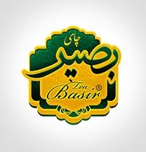طراحی لوگو شرکت چای بصیر