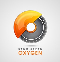 طراحی لوگو شرکت سنگ سازان اکسیژن