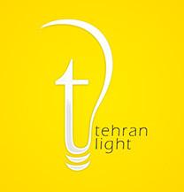 طراحی لوگو شرکت تهران لایت
