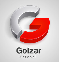 طراحی لوگو شرکت گلزار اتصال