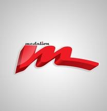 طراحی لوگو برند مدالیون