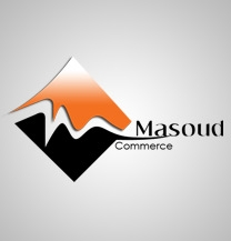 طراحی لوگو شرکت بازرگانی مسعود