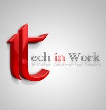 طراحی لوگو شرکت تک این ورک (Tech in Work)